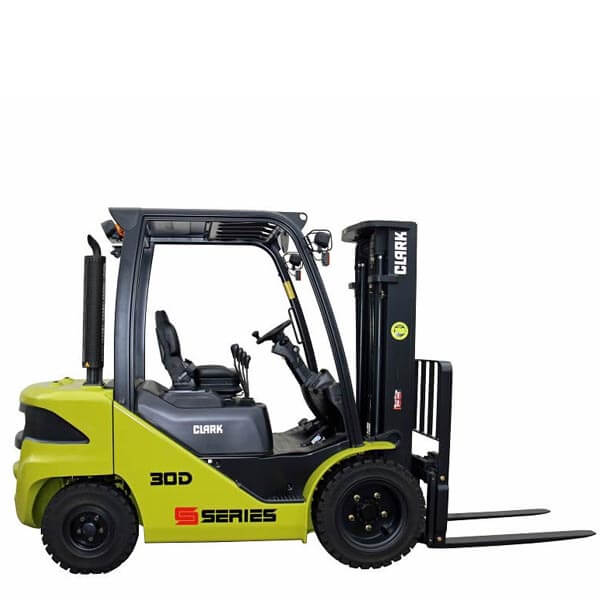 Clark Forklift with diesel or LPG drive S20-35 - Atlantic Forklifts