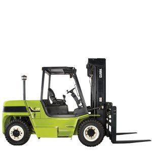 Diesel forklift LPG drive