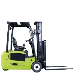 Clark Electric three-wheel forklift