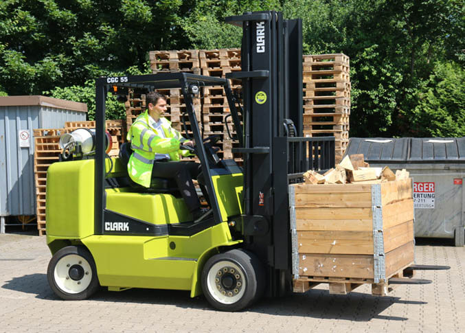 Clark Compact Forklift