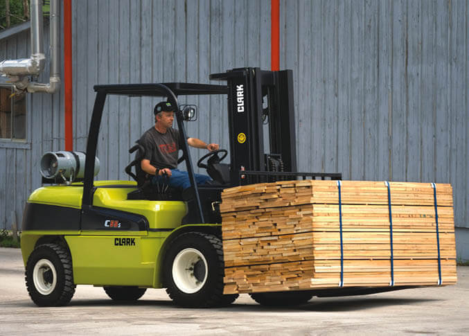 Clark Forklift C40-55s