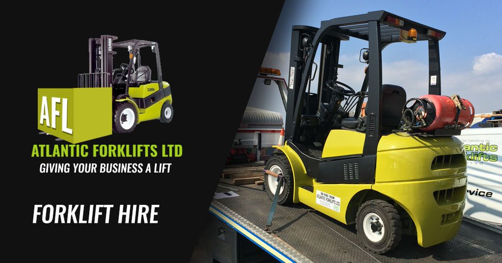 Atlantic Forklifts Forklift Hire in Widnes 1