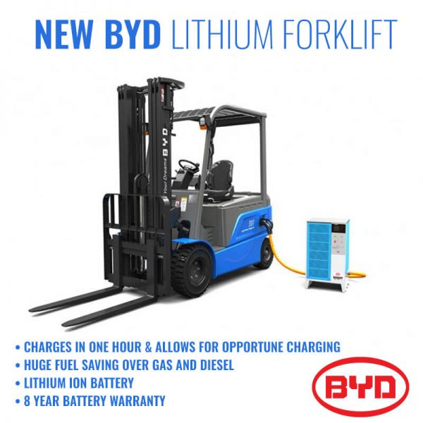 Atlantic Forklifts BYD Forklifts 1