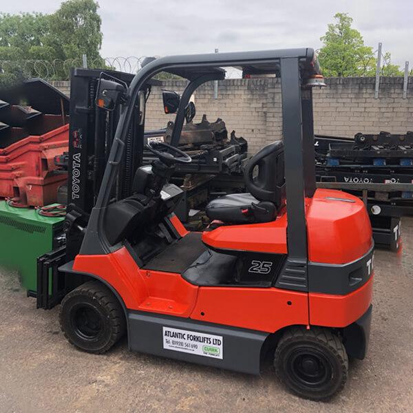 Used & Refurbished Forklift Trucks - Atlantic Forklifts